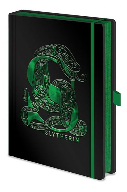 Harry Potter Foil Slytherin A5 Notebook